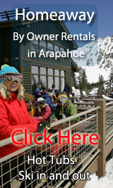 ski in out by owner vacation rentals in arapahoe